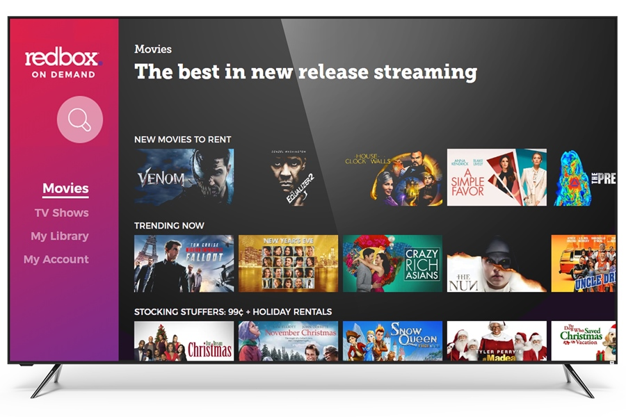 Redbox On Demand Celebrates First Birthday With New App Deal with Vizio