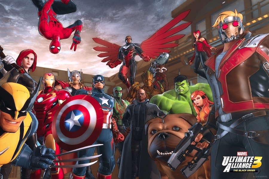 'Marvel Ultimate Alliance 3' Game Coming Exclusively to Nintendo Switch