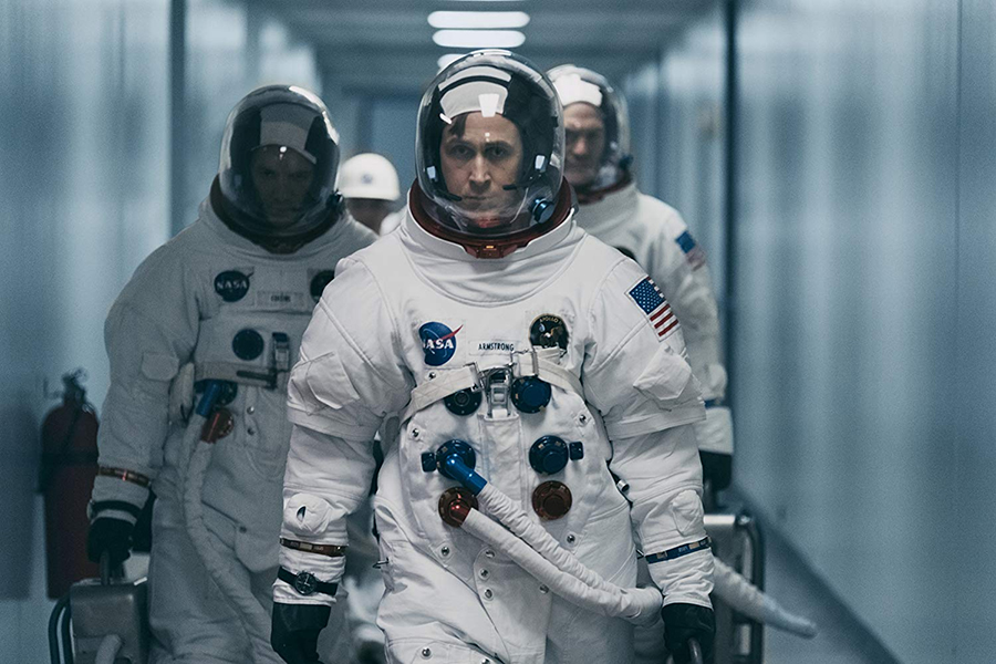 'First Man' Lands at No. 1 on Home Video Charts