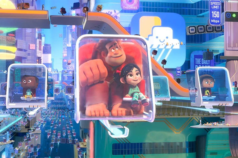 FandangoNow Streaming Video of 'Ralph Breaks the Internet' Easter Eggs