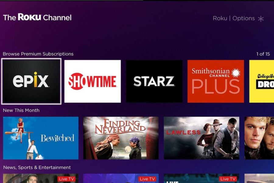 Roku Adds Third-Party OTT Video Services