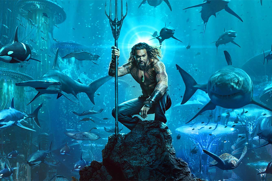 'Aquaman' Floats Atop FandangoNow Chart