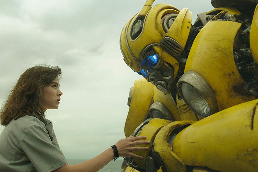 'Bumblebee' Transforms Into Top Disc Seller
