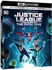 Justice League Vs The Fatal Five Given Release Dates By Warner Media Play News