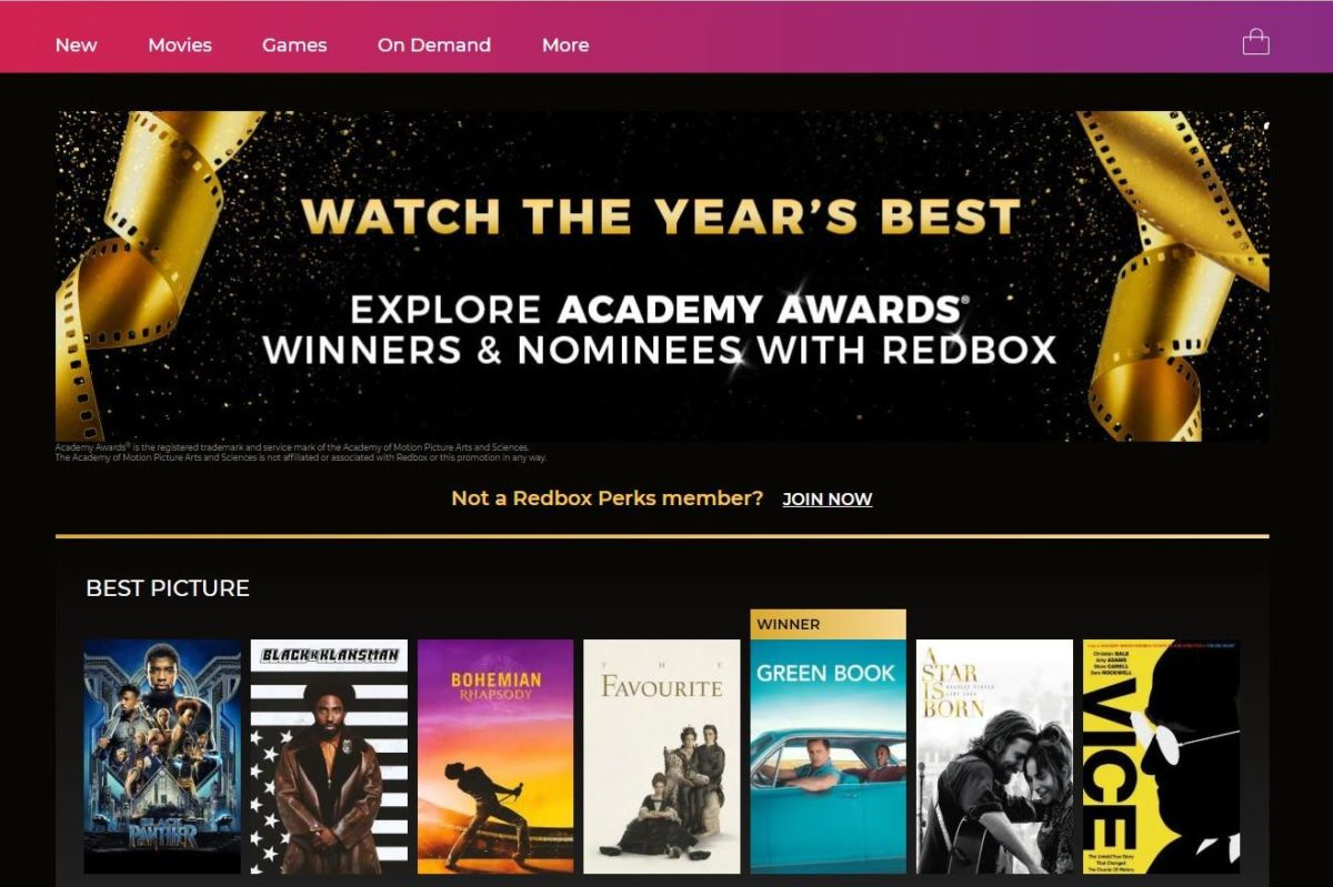 Redbox Jumps on Oscar Craze