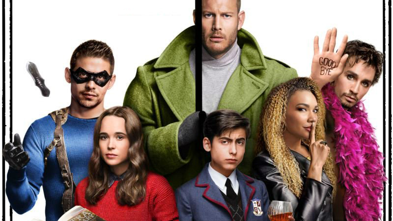 Netflix's 'Umbrella Academy' Tops 'TV Time' Binge Week Chart