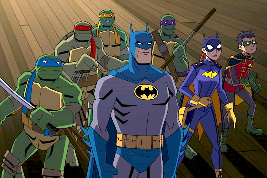Warner, Nickelodeon Present 'Batman vs. Teenage Mutant Ninja Turtles'
