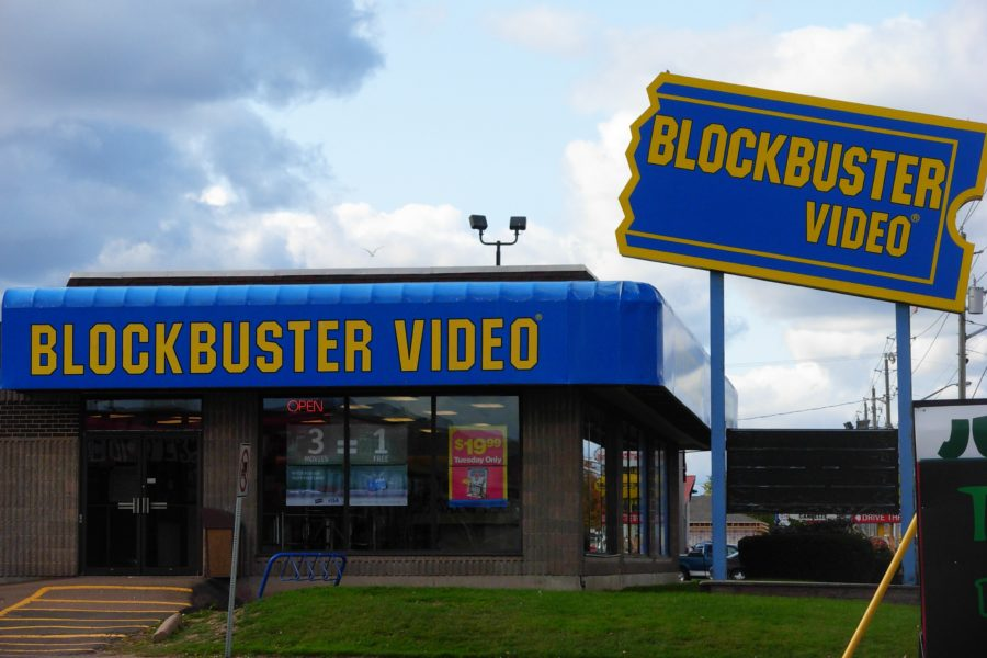 Pandemic Challenges Last Standing Blockbuster Video Store