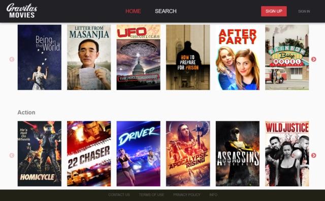 Gravitas Ventures Launches Indie Film SVOD Service