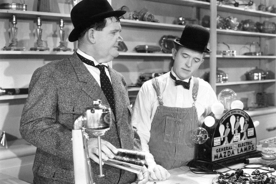 Classic Laurel and Hardy Collection Coming April 1 From Film Detective and Allied Vaughn
