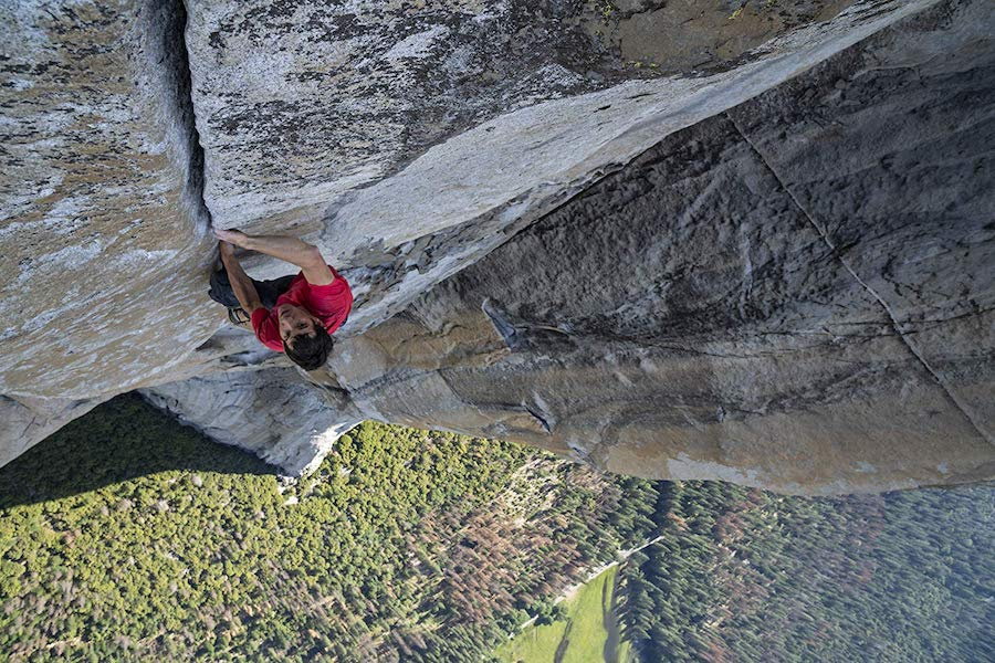 Oscar-Winning Documentary 'Free Solo' Streaming on Hulu