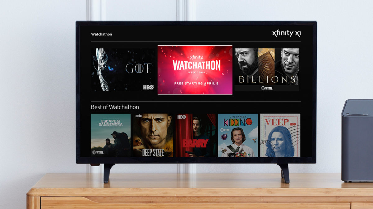 Comcast Launching 7th Annual 'Watchathon' TV, Movie VOD Extravaganza on April 8