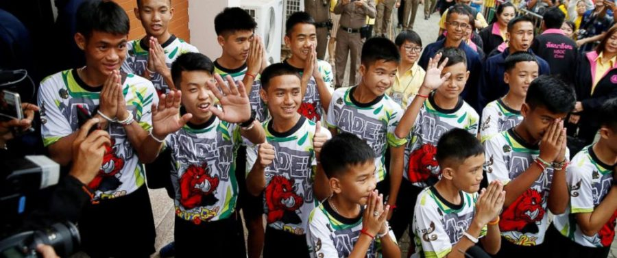 Netflix Inks Streaming Deal with Thai Boys Soccer Team Rescued from Underwater Cave