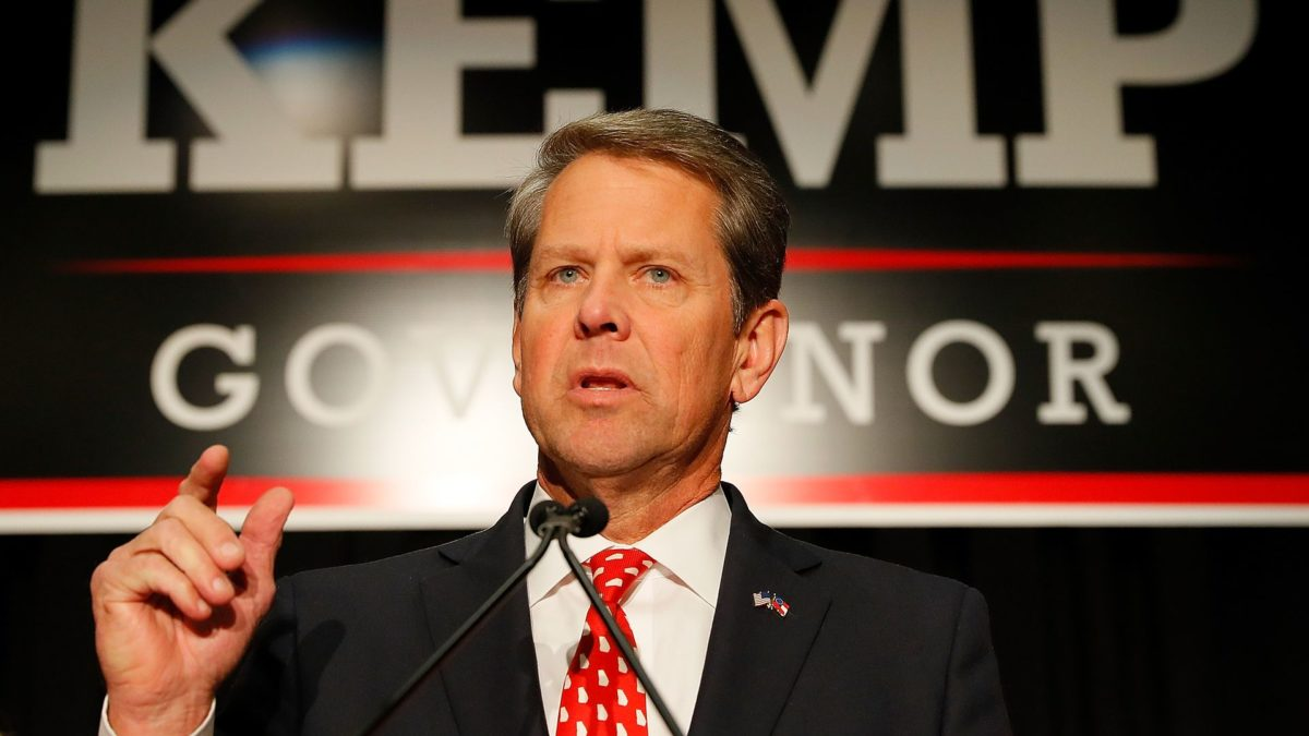 Georgia Gov. Kemp Attempts to Mollify Hollywood After Signing Anti-Abortion Law