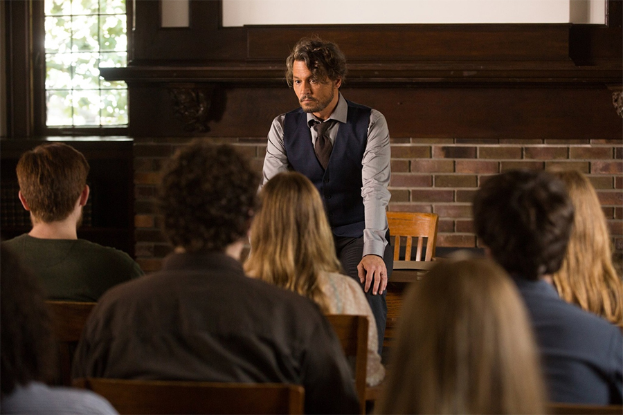 Johnny Depp Comedy 'The Professor' to Debut on Disc and Digital July 9 From Lionsgate