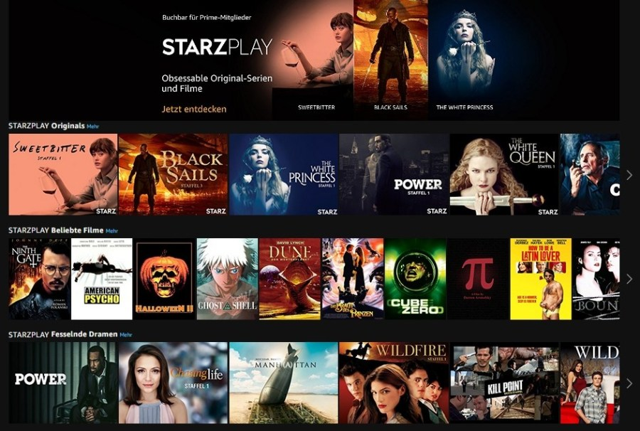 Lionsgate Licenses Box Office Titles to StarzPlay Streaming Platform in the U.K.