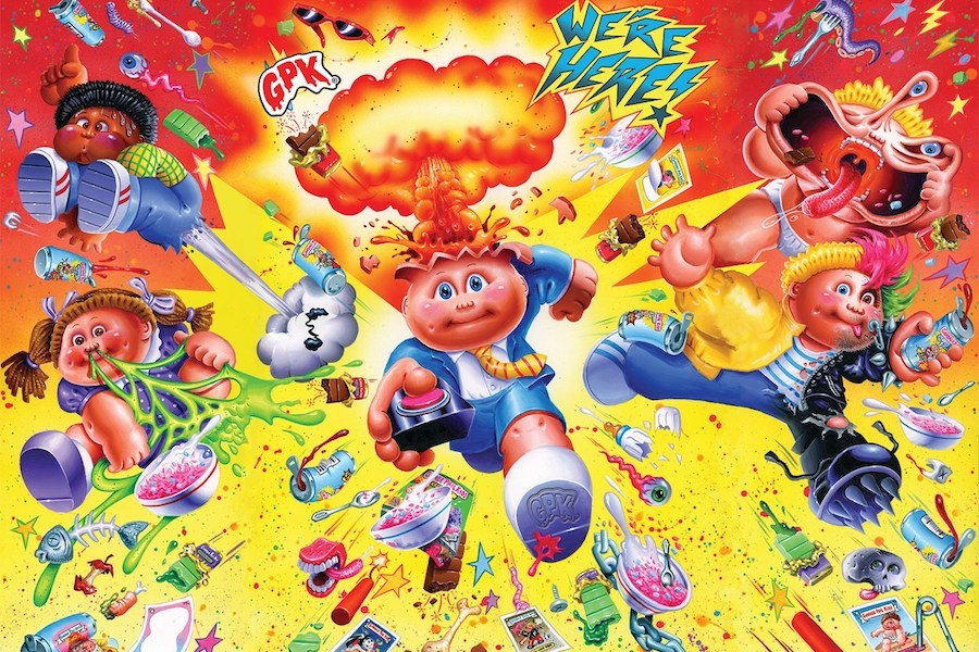 FYE Offering Garbage Pail Kids Licensed Merchandise, Cereal and Candy