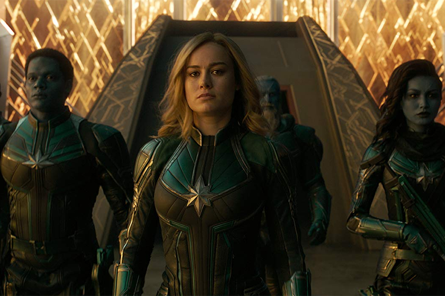 'Captain Marvel' Soars on FandangoNow Chart