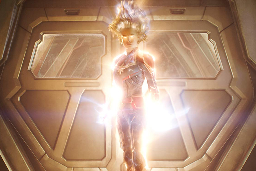 'Captain Marvel' Powers Up On Disc Sales Charts