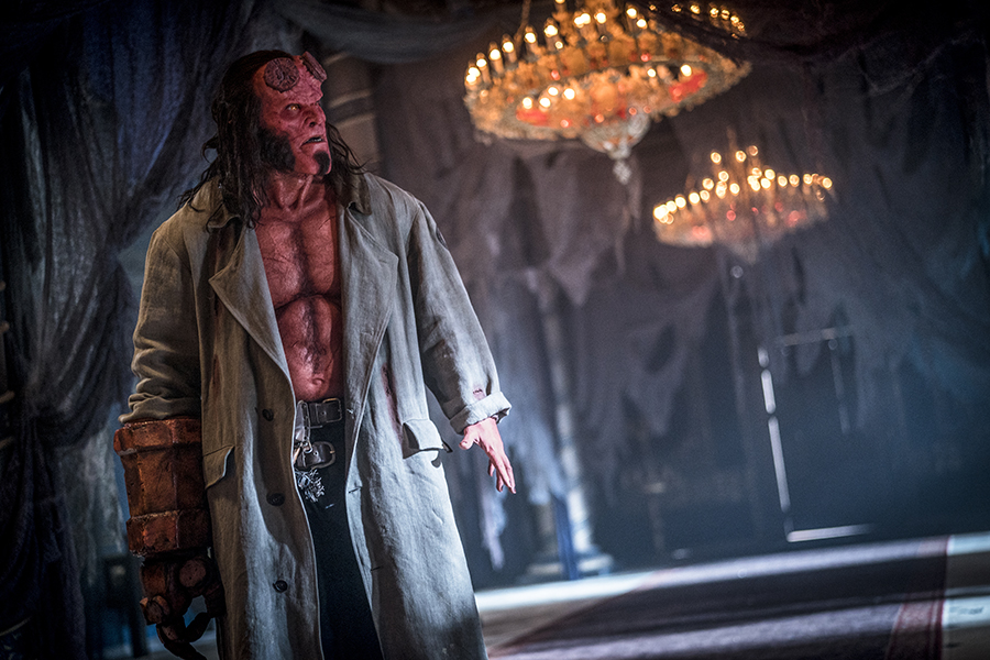 'Hellboy' Reboot Blazing to Home Video in July
