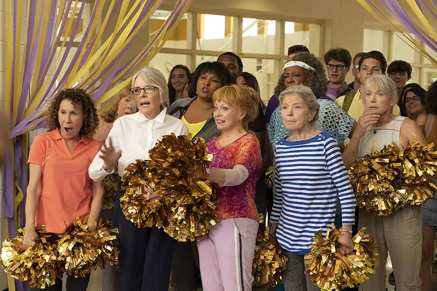 Diane Keaton Comedy 'Poms' Jumps to Digital July 23, Disc Aug. 6 From Universal