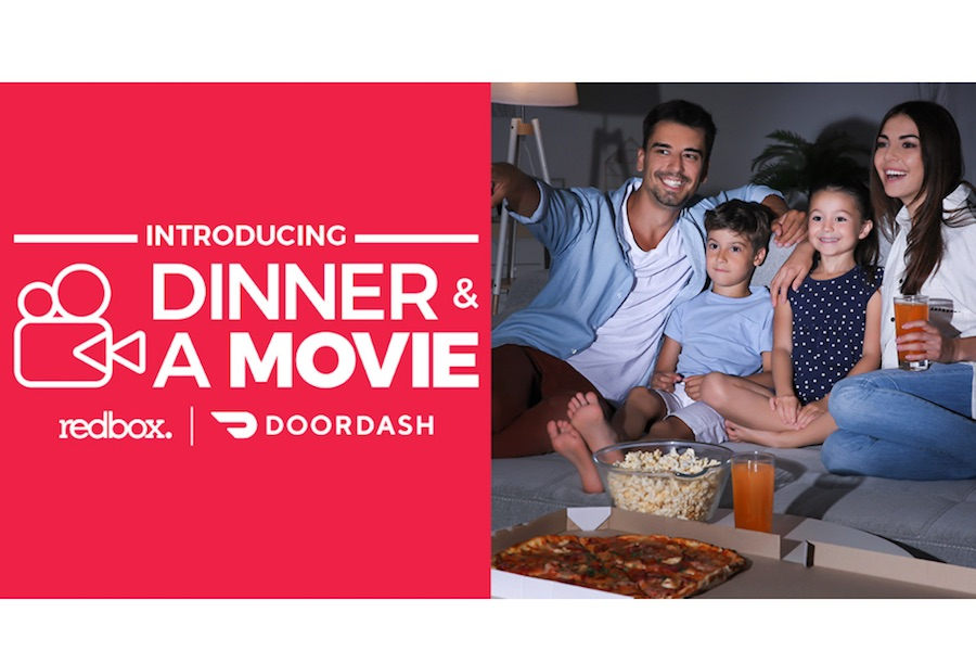 Redbox and DoorDash Team for 'Dinner & a Movie' Promotion