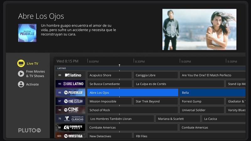 Pluto TV Launches Spanish-Language Platform