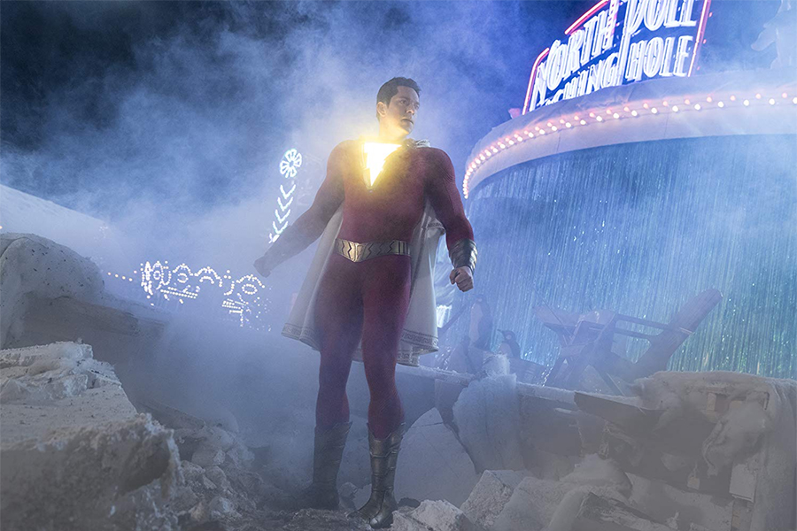 'Shazam!' Lights Up Disc Sales in July