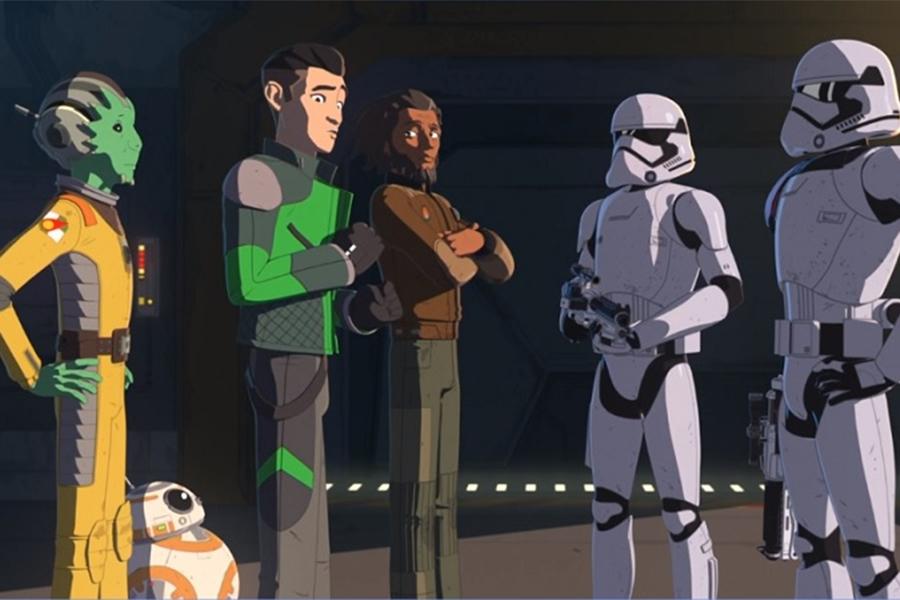 'Star Wars Resistance' Season 1 on DVD Aug. 20