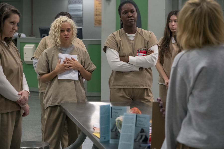 Netflix's 'Orange Is the New Black' Top Binge, 'Dear White People' Leads 'Shows on the Rise' on TV Time Charts