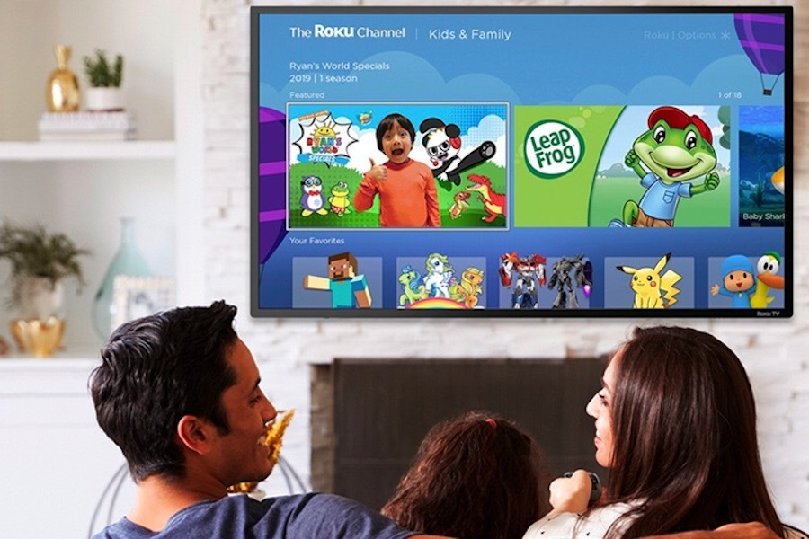 'Kids & Family' Service Added to the Roku Channel