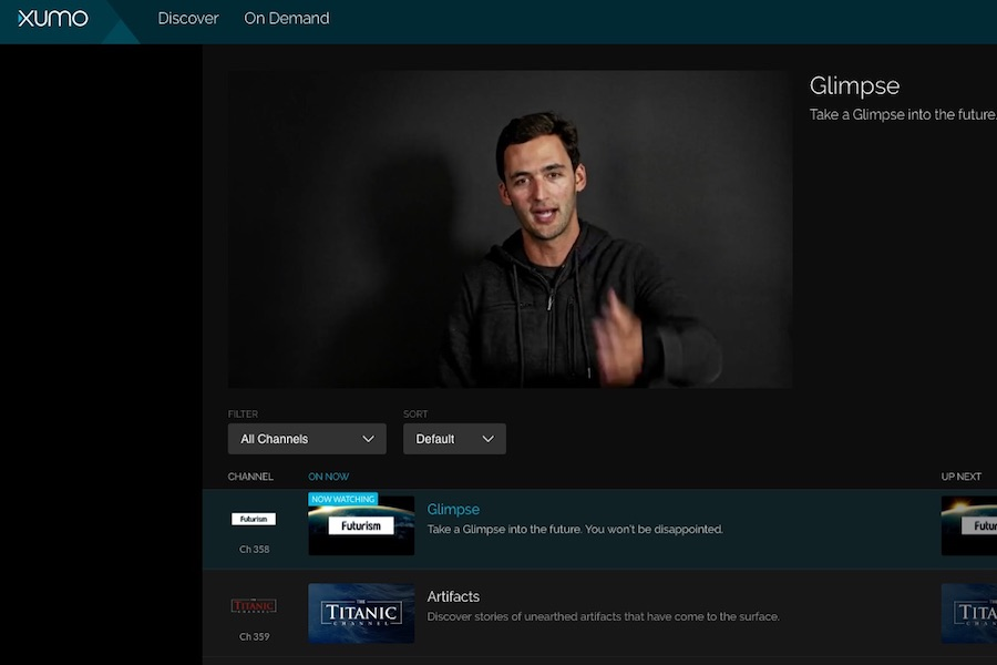 Xumo AVOD Service Launches on Comcast Xfinity X1 and Android TV