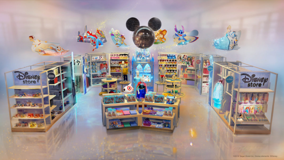 Disney Opening Branded Stores at Target