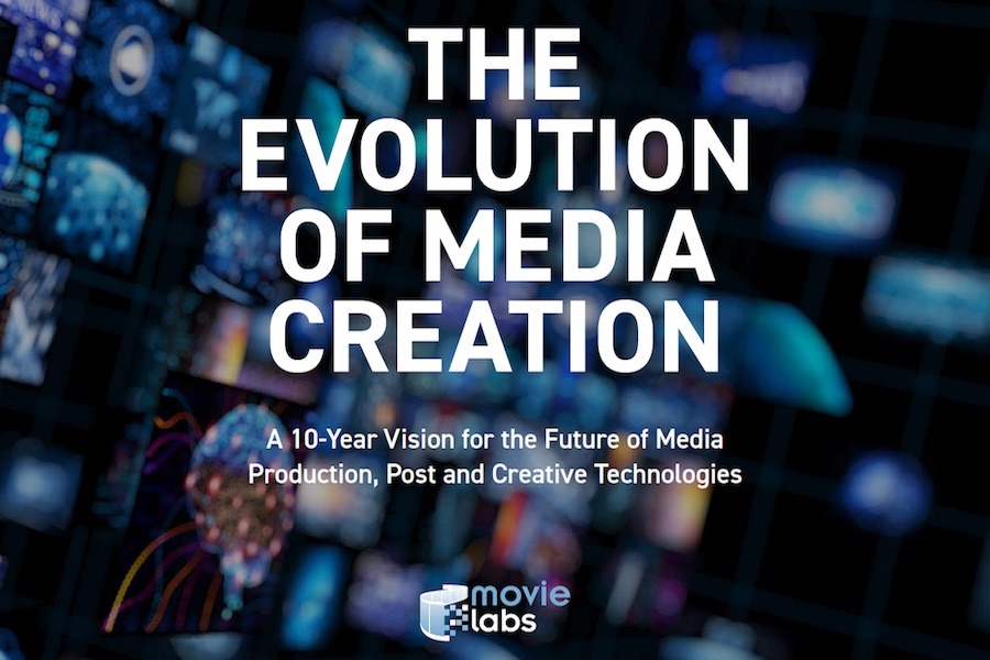 MovieLabs, Hollywood Studios Publish White Paper on Future of Media Creation