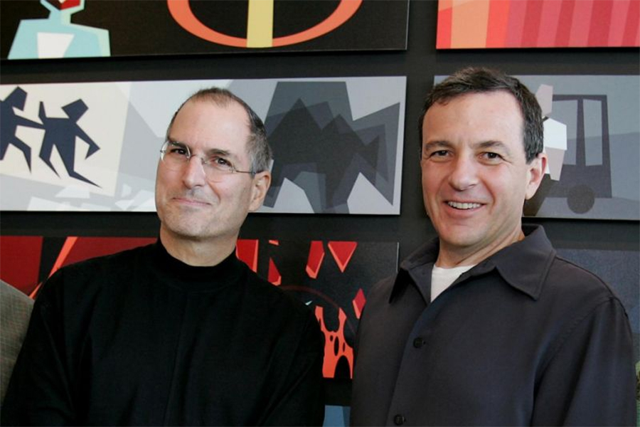 Bob Iger: 'If Steve (Jobs) Were Alive,' (Disney, Apple) Would be Combined Companies