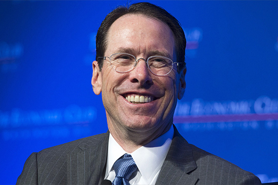 AT&T CEO Defends Media Strategy, Including John Stankey as Possible Successor