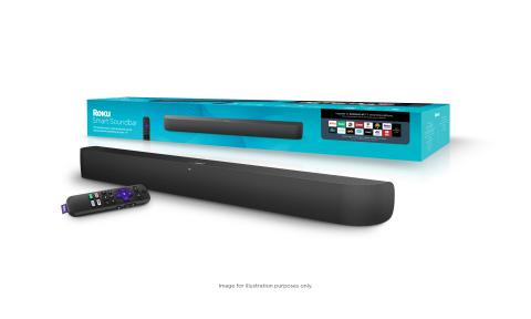 Roku Launches Branded Soundbar, Subwoofer