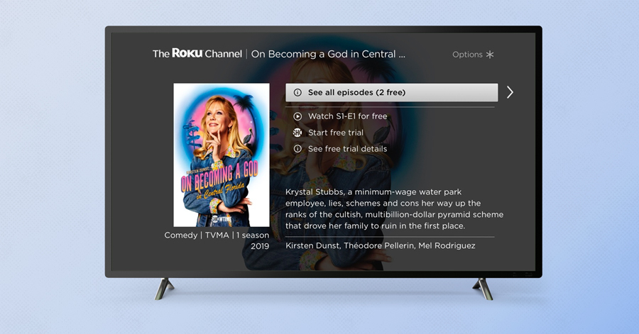 Roku Offering Free Premium Content on Ad-Supported Channel