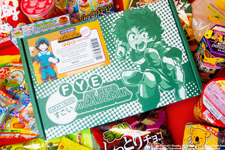 FYE Partners With Funimation on Exclusive 'My Hero Academia' Products