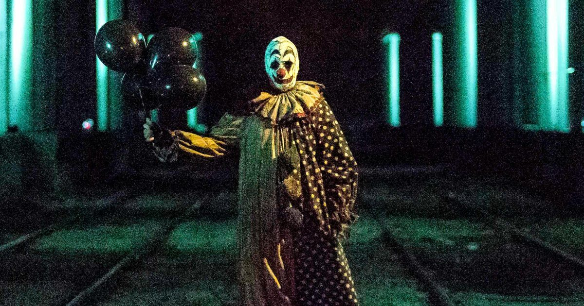 'Clown-Roaming' Horror Comedy Film 'Gags The Clown' Due on Disc in November