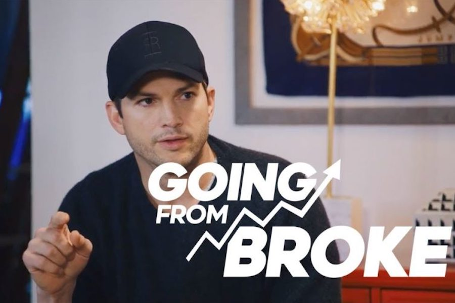 Ashton Kutcher-Produced 'Going From Broke' Series Tops 5 Million Views in Four Weeks on Crackle Plus