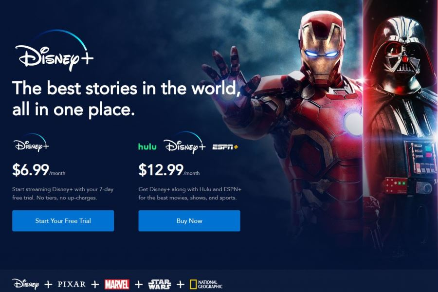 Disney+ Generated 1.28 Million First-Day Tweets; 3.2 Million App Downloads