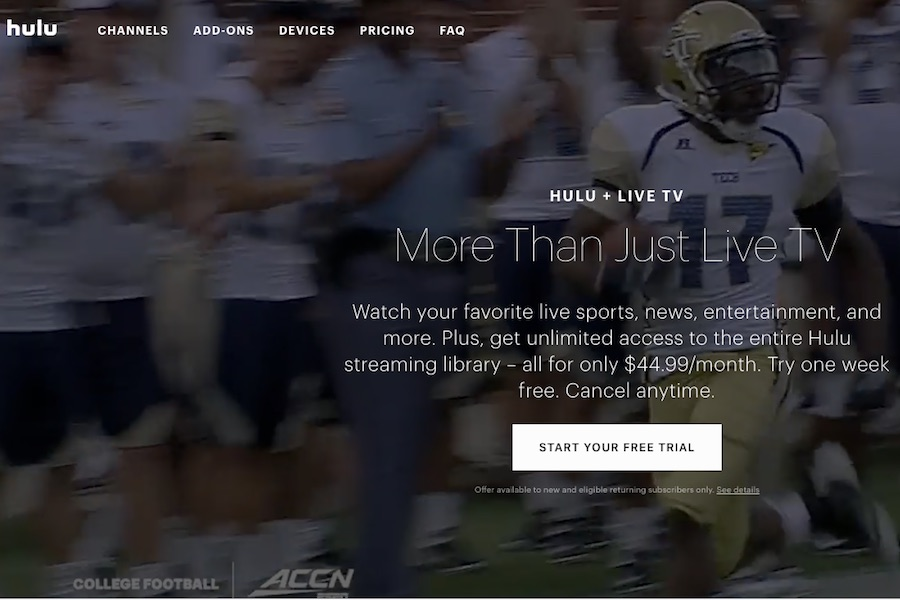 Hulu Live TV Price Jumping by $10 a Month