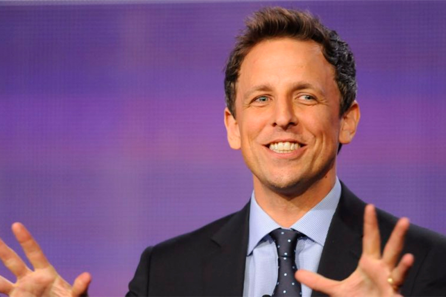 Netflix's Seth Meyers Comedy Special Lets Viewers Skip Trump Jokes