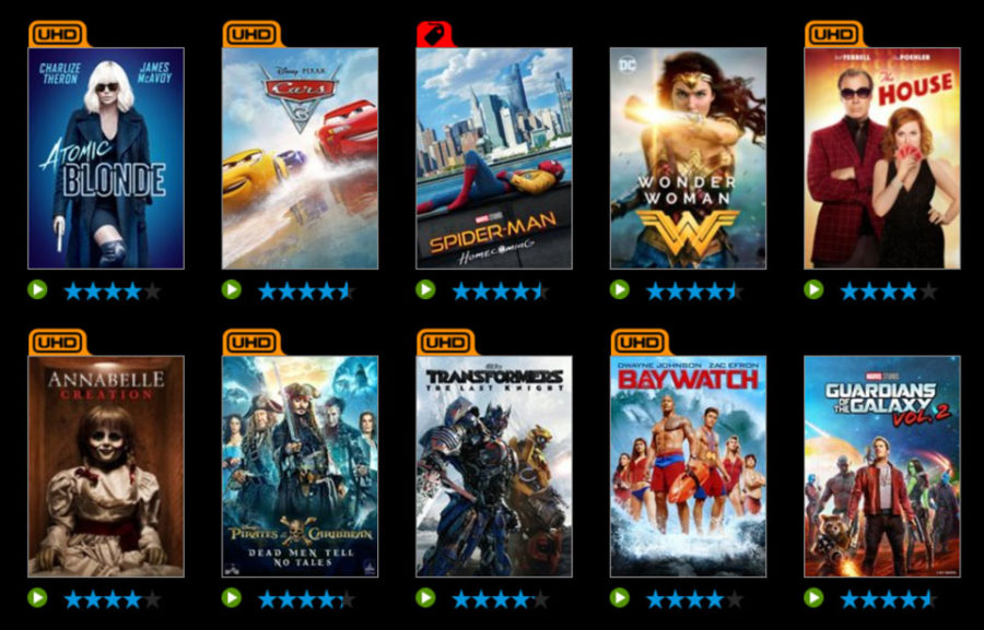 Vudu Cutting 4K Movie Pricing 50% Through Black Friday
