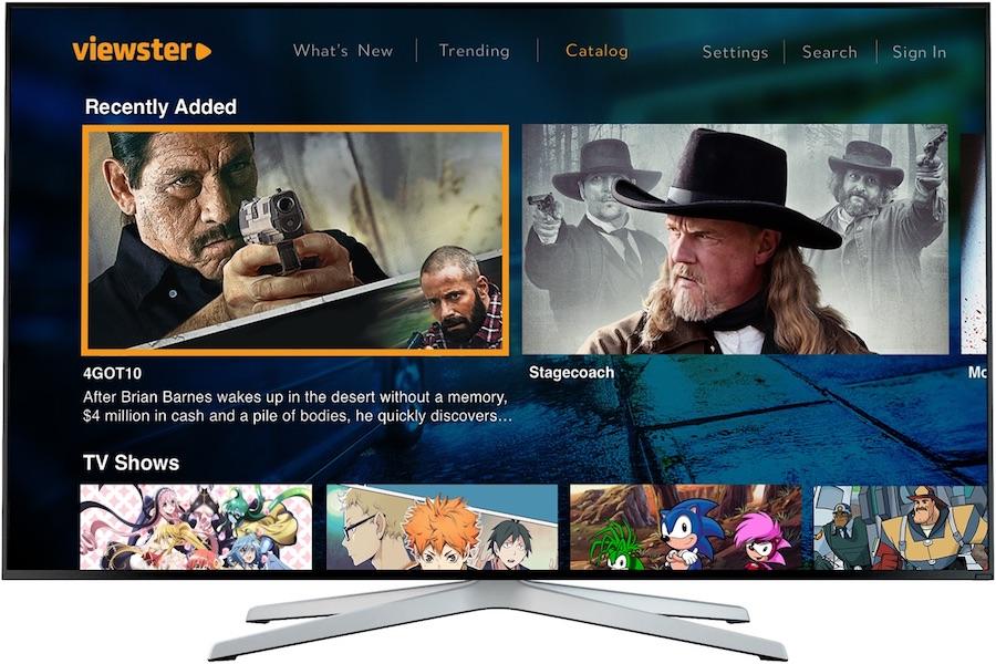 Cinedigm's Viewster AVOD Service on Philips TVs
