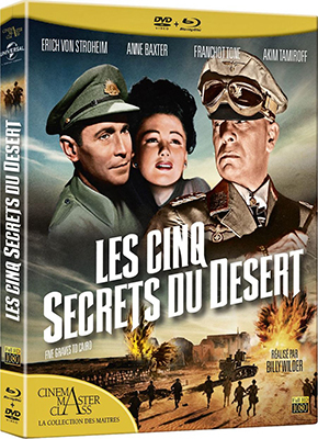 Les cinq secrets du desert (Five Graves to Cairo)