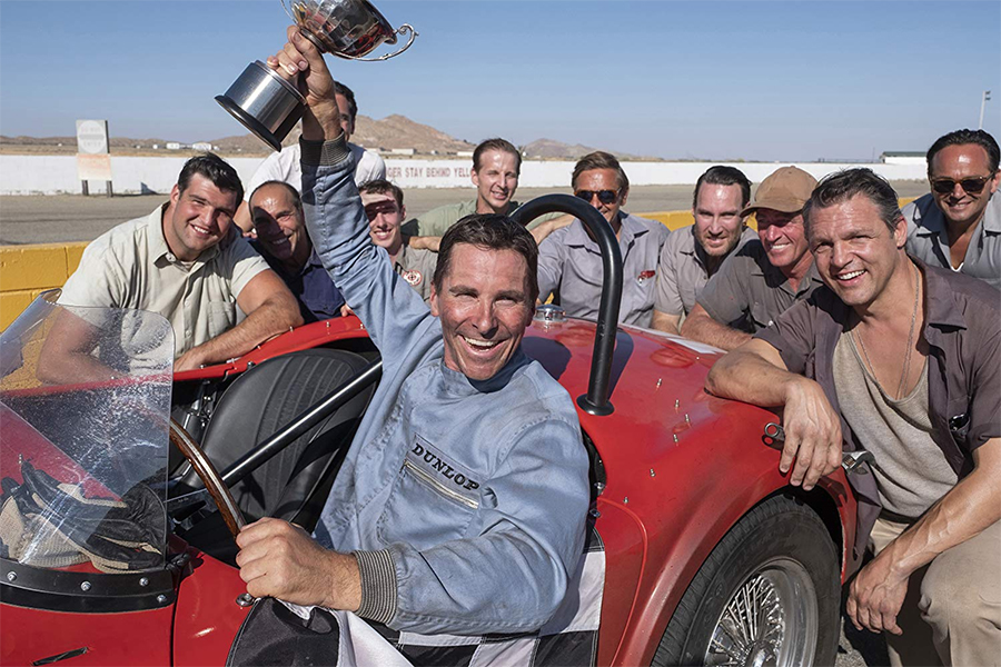 'Ford v Ferrari' Finishes First on Redbox Charts