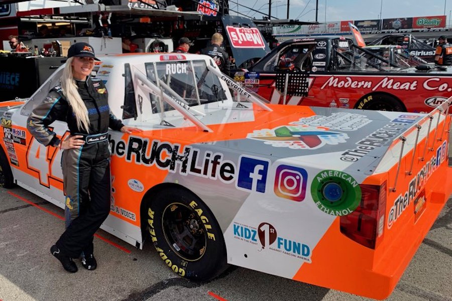Facebook Watch Bowing New Reality Series Starring Female NASCAR Driver Angela Ruch