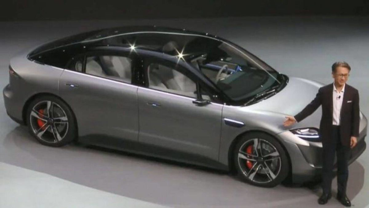 Sony Unveils Electric Car at CES